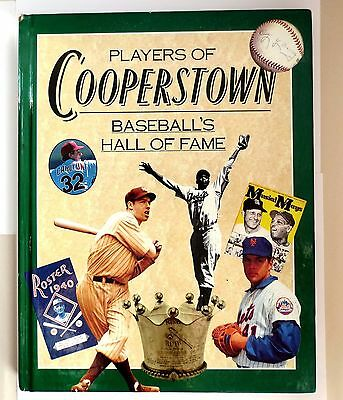 Players of Cooperstown- Baseball's Hall of Fame by David Nemec- 1994 Hardcover