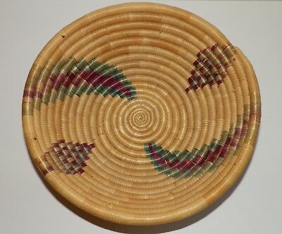 "Native American Basket 10"" Diameter Arizona"