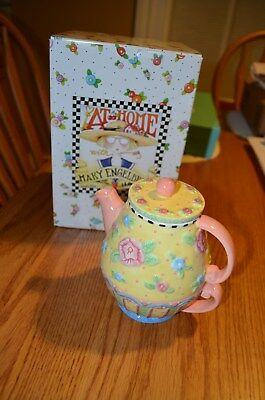 At Home With Mary Engelbreit- Teapot & Tea Cup Tea-for-oneIn Original Box