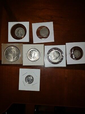 Old United States Type Coin Lot (Bundle Of 7 Coins)