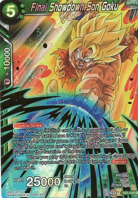 Dragonball Super CCG Final Showdown Son Goku