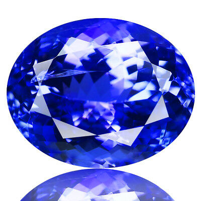 4.40 Ct EXCELLENT LOOK !100% NATURAL AAA COLOR BLUE TANZANITE