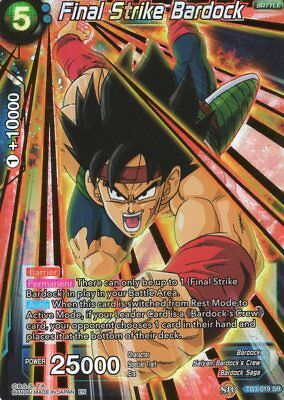 Dragonball Super CCG Final Strike Bardock