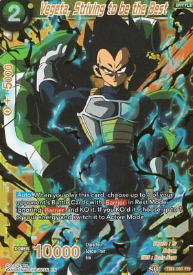 Dragonball Super CCG Vegeta, Striving to be the Best