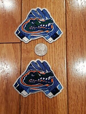 "UF FLORIDA GATORS VINTAGE EMBROIDERED IRON ON PATCH Lot Patches 3.5/"" x 3"" 2"