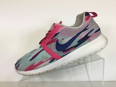 b03cd8a27c41 Nike Girls Roshe One Flight GS 705486-401 Shoes Kids Youth Junior Size 7Y