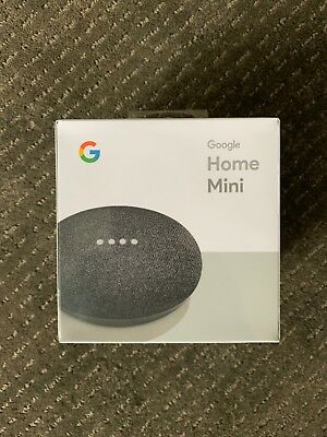 Google Home Mini Smart Assistant - New!! Unopened!!