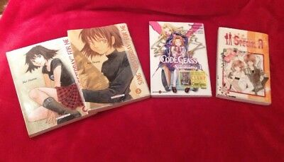 Job Lot.  Set Of 4 Manga ( IN FRENCH )