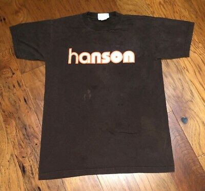 Vtg Mens Hanson T Shirt Size Medium