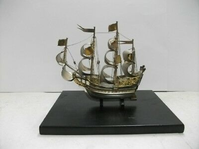 Sterling 950 pirate ship. About #245g/ 8.63oz.