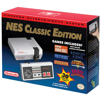 Nintendo Entertainment System: NES Classic Edition (Genuine/Free Shipping)