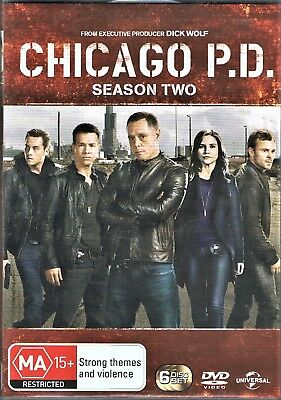 Chicago P.d.,complete Season 2,dvd,region 4,as New