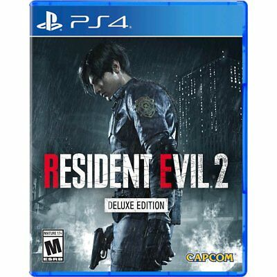 Resident Evil 2 Deluxe Edition PlayStation 4 PS4 RARE SOLD OUT & PRE-ORDER DLC