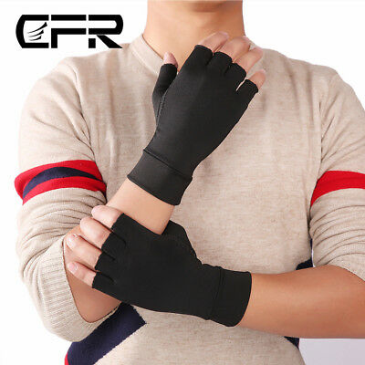 Compression Gloves Joint Finger Pain Relief Hand Wrist Support Brace Arthritis