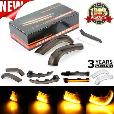 Dynamic Smoked LED Turn Signal Light Mirror Indicator For VW Golf 5 Jetta MK5/7
