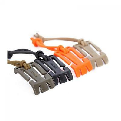 Cable Storage EDC Tool Tactical Elastic Cord Clip MOLLE Webbing Buckle