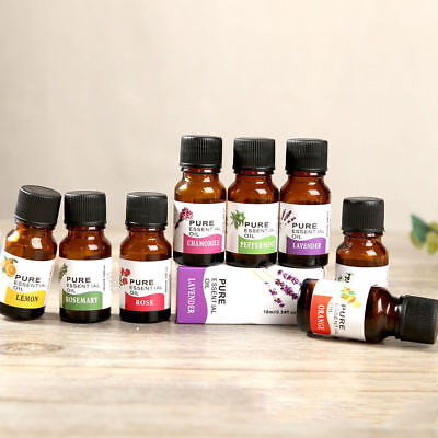 100% Pure & Natural Essential Oils Aromatherapy 10ml 12 Scents HOT SALE