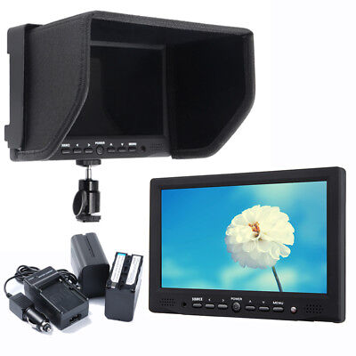 "Bestview BSY708-M 7"" Video Monitor 400cd/m2 + 2x 6600mAh Battery for DSLR Camera"