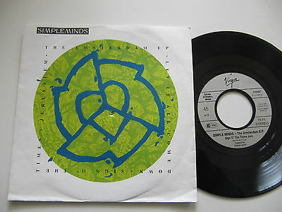 """Simple Minds The Amsterdam E.P. 7"""""""