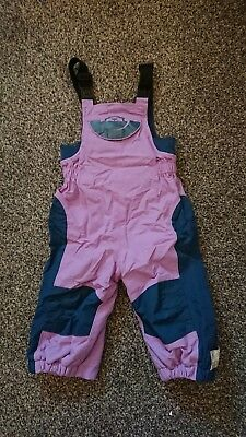 Spotty Otter Waterproof Dungarees age 6-12 months