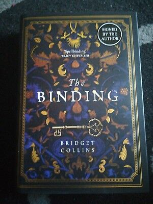 Bridget Collins The Binding SIGNED EXCLUSIVE EDITION PURPLE SPRAYED EDGES! 1/1