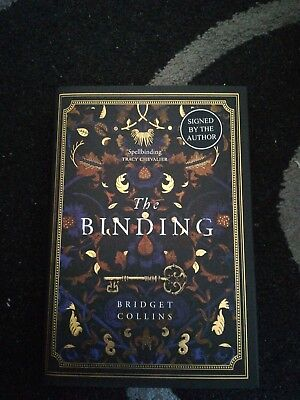 The Binding - Bridget Collins. SIGNED & NUMBERED 516 NEW