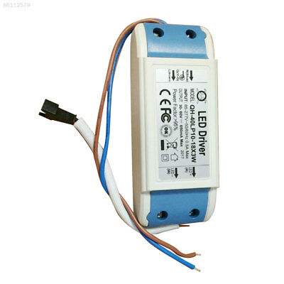 AB8B Constant Current Driver For 12-18pcs 3W High Power LED Light 40w 600mA