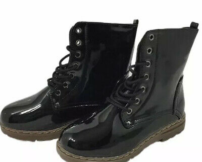 TIMBERLAND GIRLS BLACK OR Red Patent Leather 6 Inch