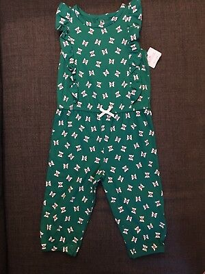 BNWT 6-9months Green Baby Girl Playsuit