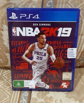 NBA 2K19 PS4 (Playstation 4) Brand New and Sealed – Ben Simmons on front