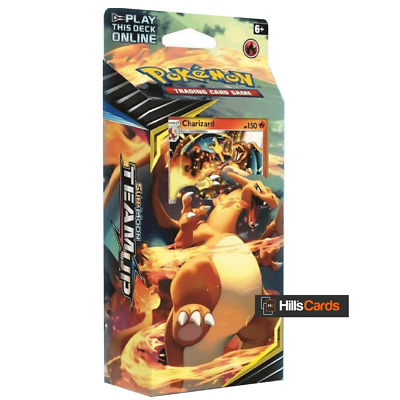 Pokemon TCG SM Team Up Theme Deck Relentless Flame (Charizard) - 60 Cards SM-9