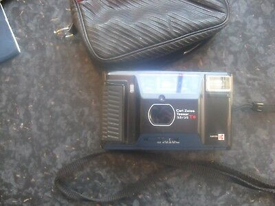 Yashica T AF Carl Zeiss T* film tested 35 camera