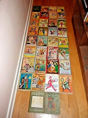 antique book 12 Lot set the Wizard of oz Baum collection vintage FREE ship world