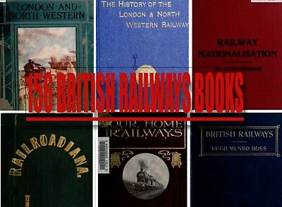 156 British Railways BRADSHAWS Great Western London & North Western books 2 disc