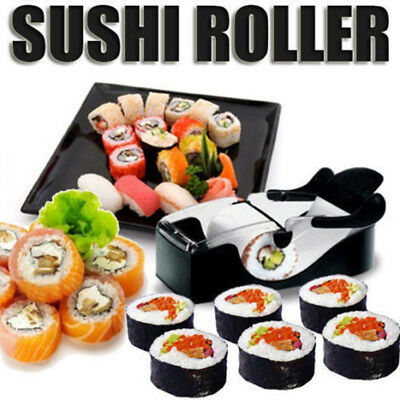 Perfect Roll DIY Easy Kitchen Magic Roller Sushi Maker Cutter Gadget Machine UK