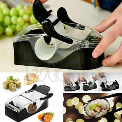 Sushi Roller Maker Cutter Kitchen Roll Diy Magic Mold Perfect Easy Tool Machine