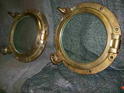Antique Brass Ships Portholes