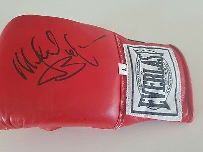 Michael Buffer Personally Signed Everlast Boxing Glove