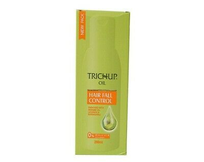 Trichup Hair Fall Control Oil 200ml / With Free Trichup Herbal Shampoo 100ml