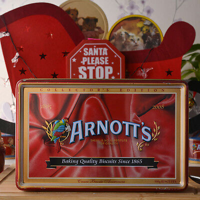 Arnotts - COLLECTOR'S EDITION 1865 - 2007 - 142 Years Commemorative Biscuit Tin