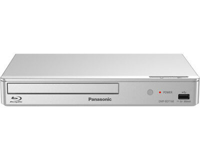 Panasonic DMP-BDT168 Silber Blu-Ray Player-NEU&OVP