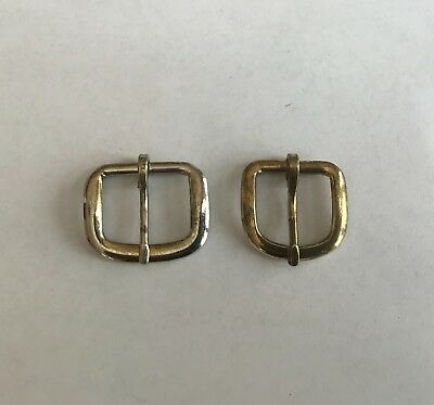 Vintage Belt Buckles Nickel and Brass Plated