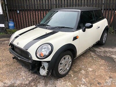 2009 59 R56 Mini One 1.4 Petrol 3DR Manual DAMAGED REPAIRABLE SALVAGE BARGAIN