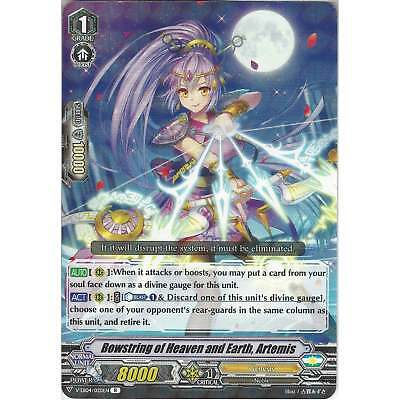 Cardfight Vanguard Bowstring of Heaven and Earth, Artemis V-EB04/020EN R - Rare
