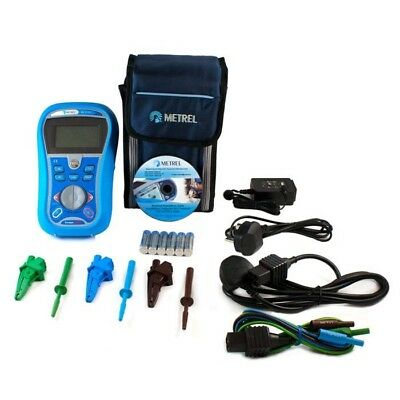 New Boxed - Metrel Mi3125 Multifunction Tester -Test Leads Charger 12 Months Cal