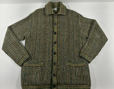 Missoni Sport Cardigan Giacca Jacket Sweater 80's Vintage Made In Italy