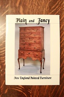 Plain And Fancy: New England Painted Furniture - Cullity - Brand New!!! Wow!!!