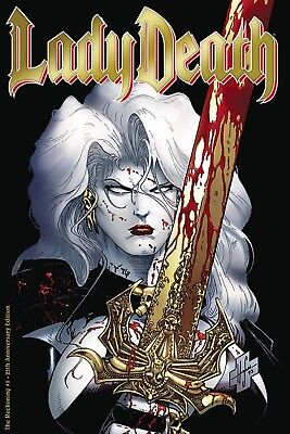 Lady Death The Reckoning #1 25Th Anniversary Edition Limited Time Only