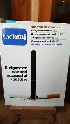 Bmj No 8073 17 Sept 2016 E cigarette stop smoking kidney donation stations