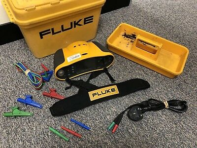 Fluke 1652 Multifunction Tester C/w Test Leads, Mains Lead, Case & Calibration